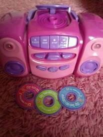 Child's toys CD player