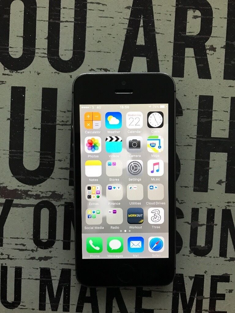Apple iPhone 5s Space Greyin Arnold, NottinghamshireGumtree - Apple iPhone 5s Space grey in great condition only a few minor marks here and there. Currently used on three network but believe its unlocked on all networks. Come complete with charger. £100 Ono