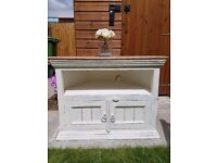 Tv stand - distressed shabby chic