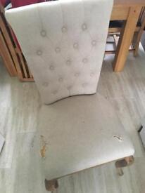 Shabby chic diamond back chair SOLD!!!!