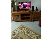 Tv oak stand Dorchester. RPR £ 149