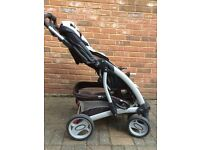 Mothercare Pram and Pushchair Travel System - with manual