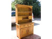 Solid Oak antique look dresser