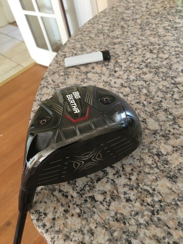 Big Bertha Alpha 860 Driver 105 Degrees Only 6 Months Old With