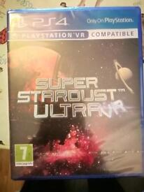 SUPERSTARDUST ULTRA VR GAME-BRAND NEW & SEALED!!!