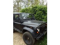 1987 Land Rover Defender 90, massively spec'd for Green Laning. Fresh from professionsal uprgades