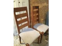 Dining chairs SOLD
