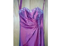 Taffeta bridesmaid/prom dress NWT size 4/6.