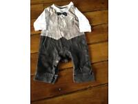 Mothercare Dinner suit all in one 3-6 months