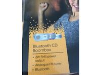 Bush Bluetooth CD Boombox