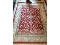 "Late aunties wool carpet 68""x47"""