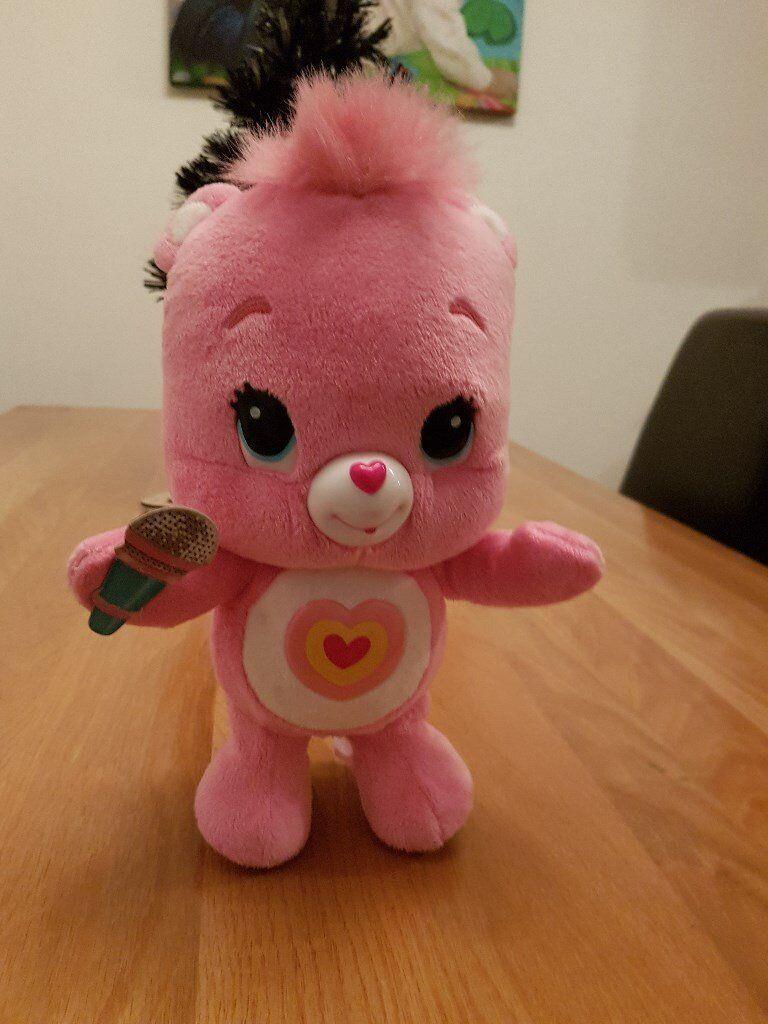 Care Bear Wiggle Hugs Wonderheart Bear– EXCELLENT CONDITION - £10