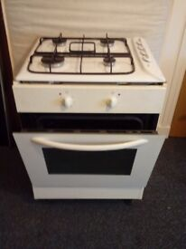 Electric single oven & Gas hob