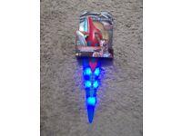 power ranger electronic light up sword brand new