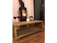 Rustic Hand Crafted Coffee Table