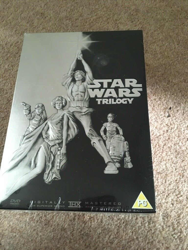 Brand new sealed Star Wars Trilogy Collectors item