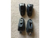 Ford Focus MK3 Estate 2011-2018 Roof Rack Bar Foot Pack and Locks