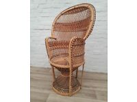 Bamboo Peacock chair (DELIVERY AVAILABLE FOR THIS ITEM OF FURNITURE)