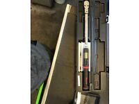 Snap on digital torque wrench/tech-angle 1/2 drive.. not mac, sealey, britool, matco, blue point etc