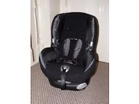 MAXI COSI PRIORI XP stage 1 car seat- Black Reflection incl instrs-nearly new