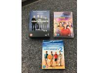 The inbetweeners dvds