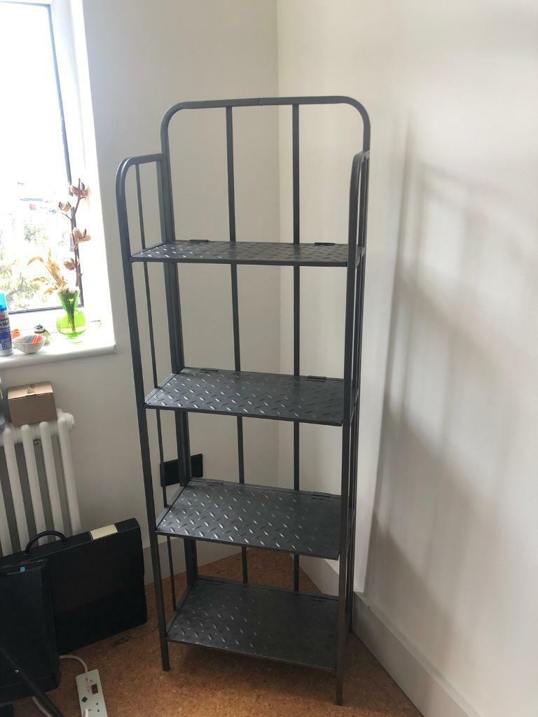 Folding Metal Bookcase In Newham London Gumtree