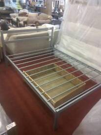 Metal double bed base only tcl 19092