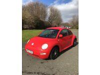 Vw beetle 1.6,52 reg 1 year mot £650