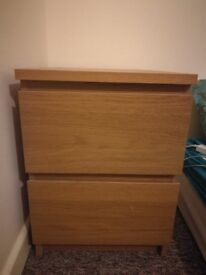 Wooden bedside table MUST GO BY 17 AUG