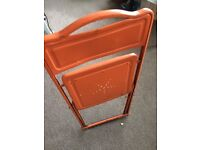 Vintage folding office or garden chair