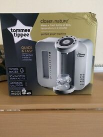 BRAND NEW IN BOX!!! Tommee Tippee perfect prep machine