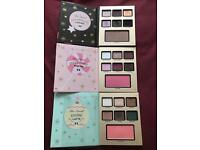 Too Faced Christmas Limited eyeshadow Pallets x 3