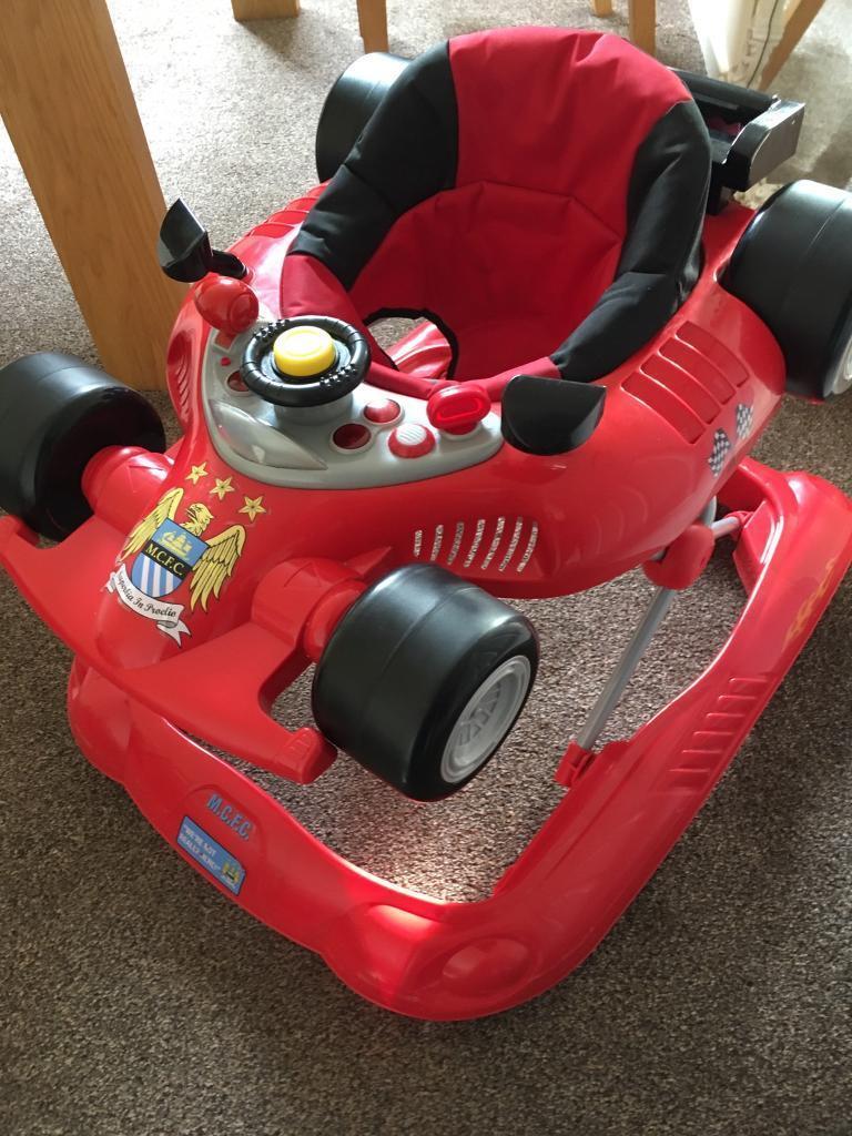 Red sports car walker