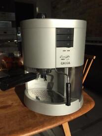 Gaggia Carezza Silver espresso coffee machine
