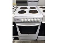 INDESIT free standing electric cooker 50 cm width in good condition & fully working order