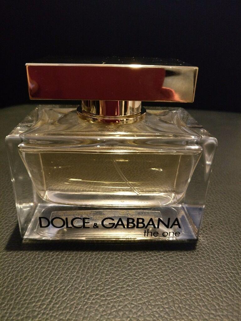 D&G The one parfum. 75ml.
