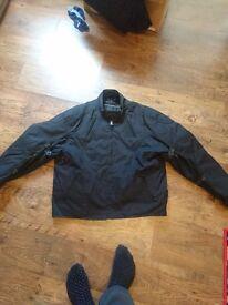 Mens XXL Frank Thomas Textile Motorcycle Jacket.