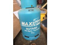13kg butane gas bottle full