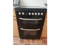 Black electric cooker
