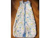 Grobag sleeping bag 0-6m 2.5tog