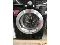 LG 9kg Gloss Black Washing Machine