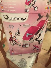 Quinny play double push chair. Brand new