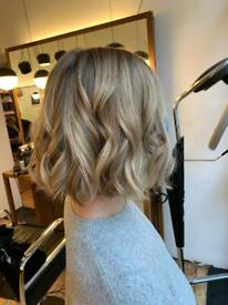 Mobile hairdresser zone 1-4 balayage and colour specialist
