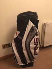 PING Pioneer Cart Golf Bag. North American Colours
