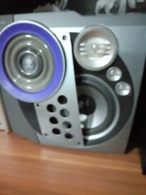 Philips speakers Grey