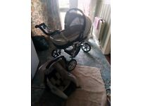 Costatto pram with carseat