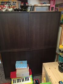Habitat solid wood tv/shelving/ cupboard