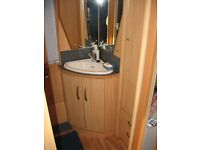 STERLING ECCLES TOPAZ 2 BERTH CARAVAN WITH END TOILET AND SHOWER (2006) EXCELLENT CONDITION