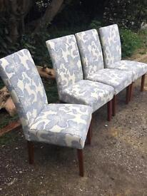 Set of 4 Brand New Dining Chairs - Unwanted Showhouse Furniture