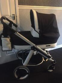 Bebecar ip-op black magic travel system Pram buggy & car seat